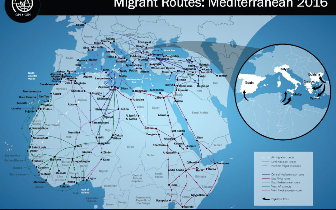 New IOM data show widespread abuse, trafficking and exploitation of refugees and migrants on theCentral Mediterranean route