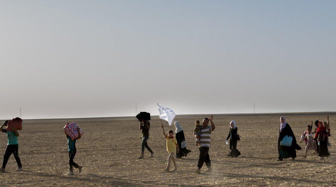 Syrians at the Algerian-Moroccan border still stranded