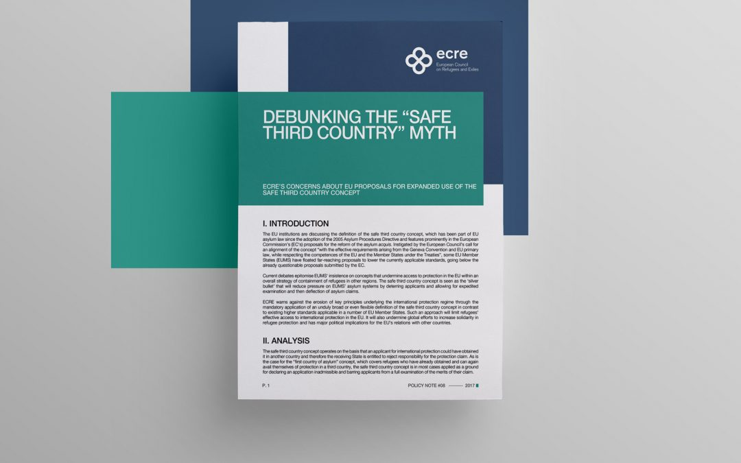 "Policy Note: Debunking The ""Safe Third Country"" Myth"