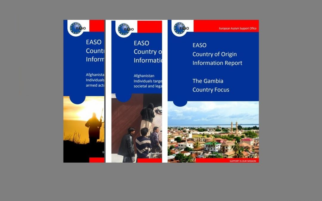 EASO strengthens efforts to harmonize country of origin reports