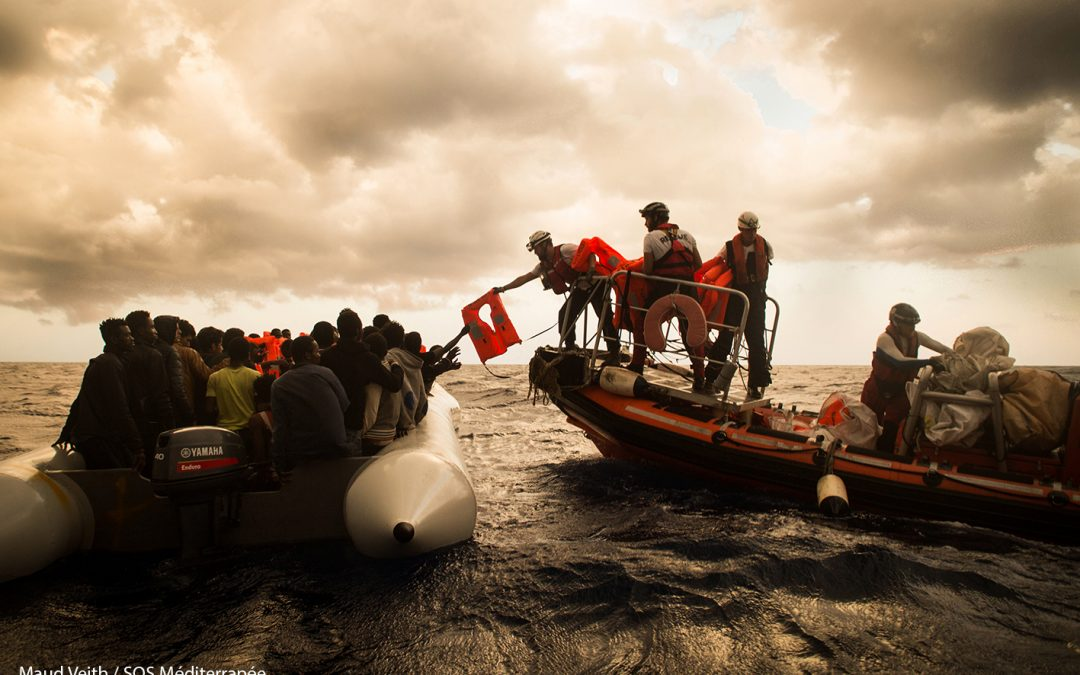 Interview: Civil society extends to the sea, search and rescue NGO's in the Mediterranean