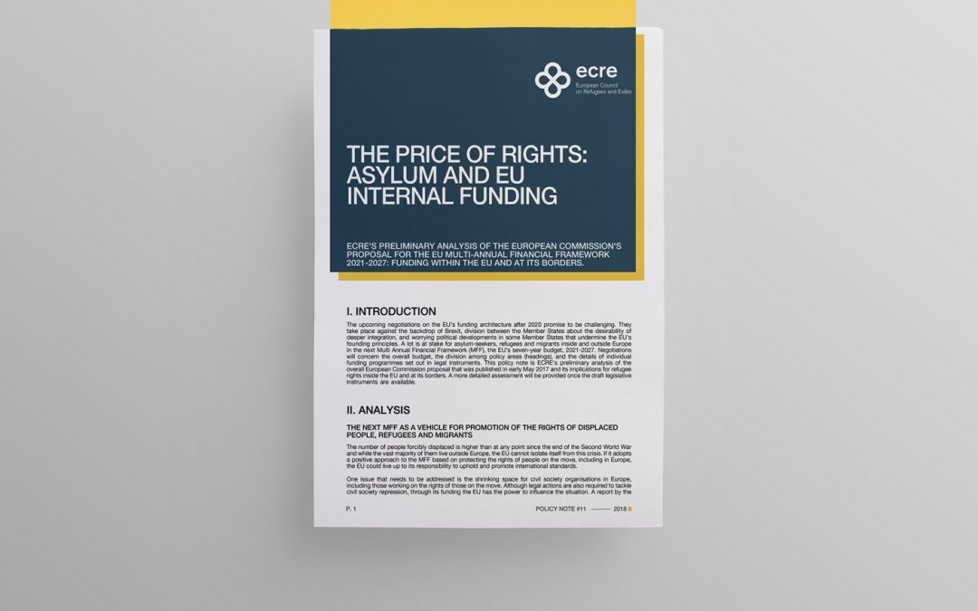 Policy note: The Price of Rights: Asylum and EU Internal Funding