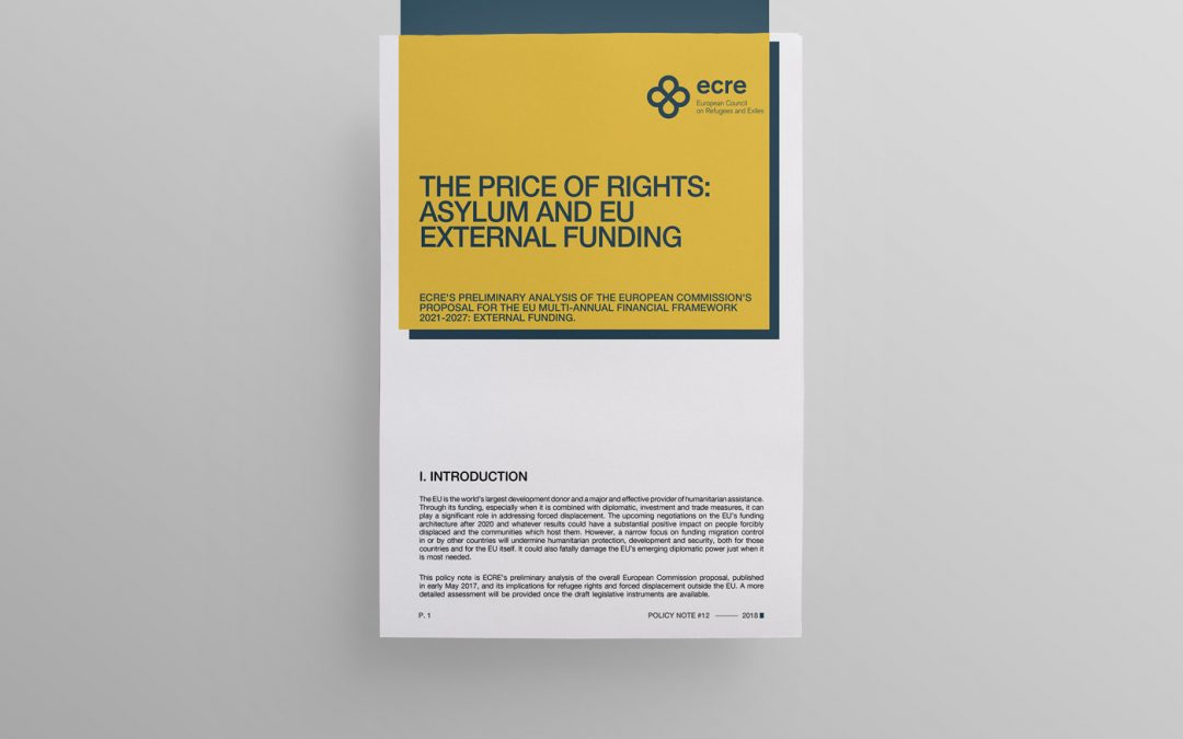 Policy note: The Price of Rights: Asylum and EU External Funding