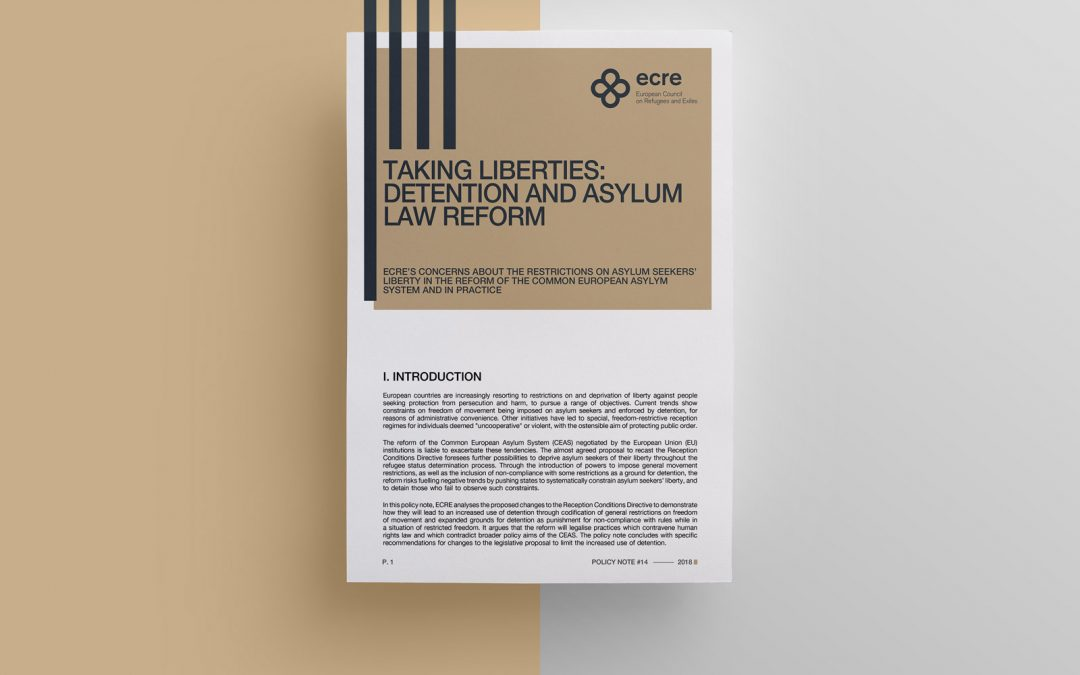 Policy Note: Taking Liberties – Detention and Asylum Law Reform