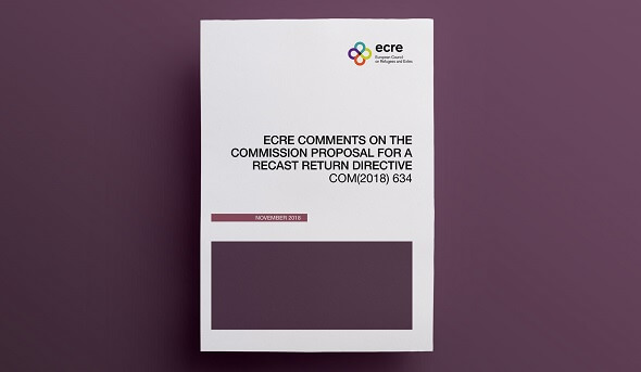 ECRE publishes comments on the Commission Proposal for a Recast Return Directive