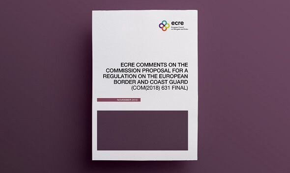 ECRE publishes comments on the Commission Proposal for a Regulation on the European Border and Coast Guard