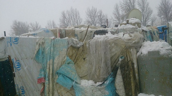 Severe Winter Storms Devastate Syrian Refugees in Temporary Lebanese Camps