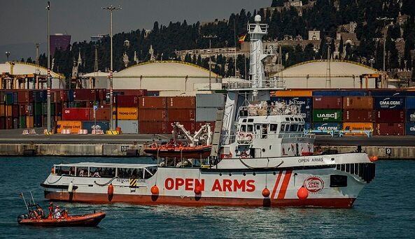 Spain: Open Arms Search and Rescue Vessel Denied Permission to Conduct Mission