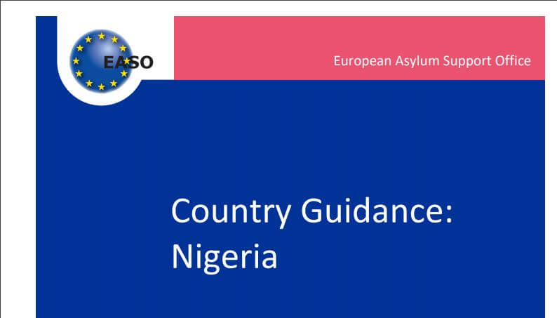 EASO publishes Country Guidance on Nigeria