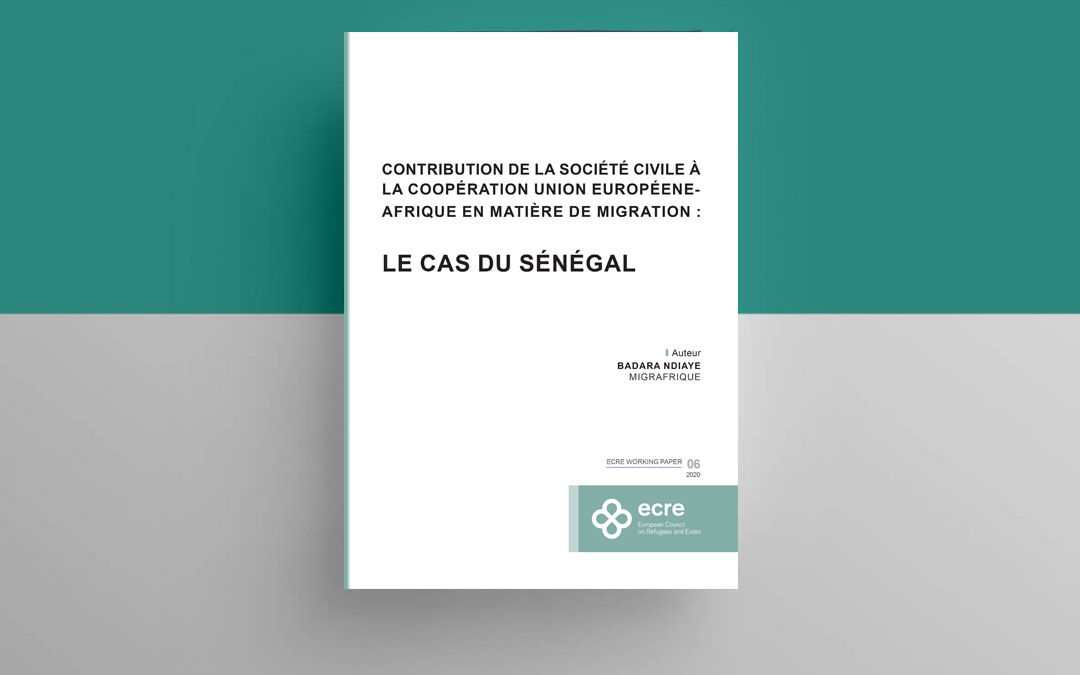 ECRE Working Paper: Civil Society Input to EU-Africa Cooperation on Migration: The Case of Senegal