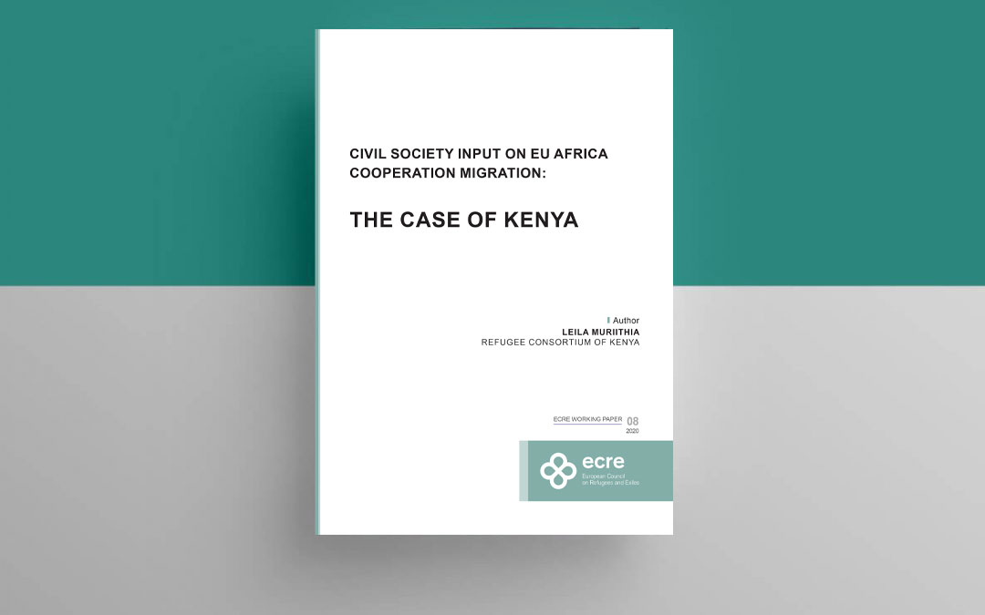 ECRE Working Paper: Civil Society Input to EU-Africa Cooperation on Migration: The Case of Kenya