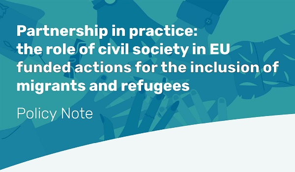 ECRE – PICUM Policy Note: Partnership in practice – including civil society in EU funded actions for the inclusion of migrants and refugees